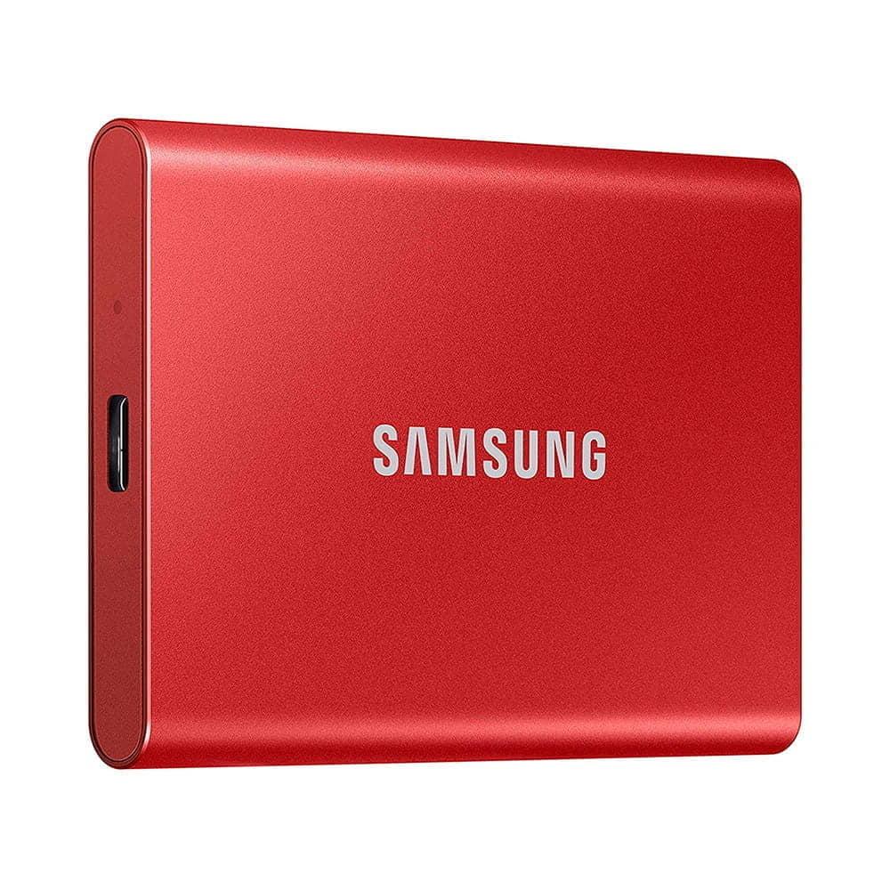 Samsung Portable SSD T7 2Tb USB 3.2 Rojo