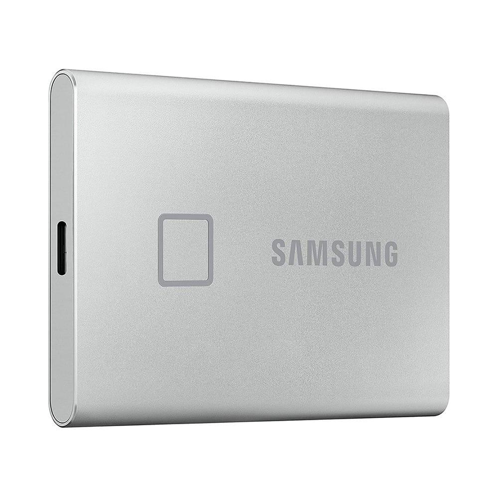 Samsung Portable SSD T7 Touch 2Tb USB 3.2 Plata