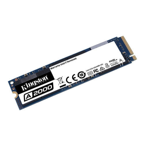 SSD 250Gb Kingston A2000 NVMe M.2 Type 2280