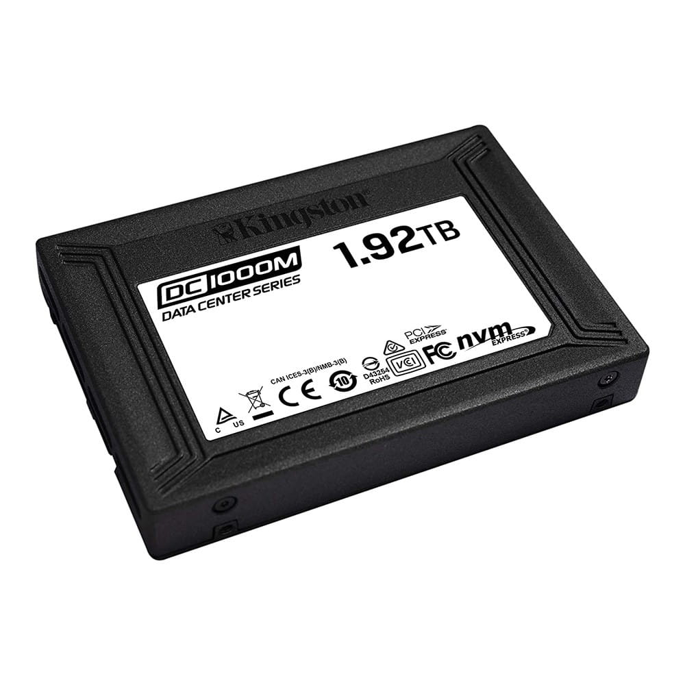 SSD 1.92Tb Kingston DC1000M 2.5 PCIe/NVMe