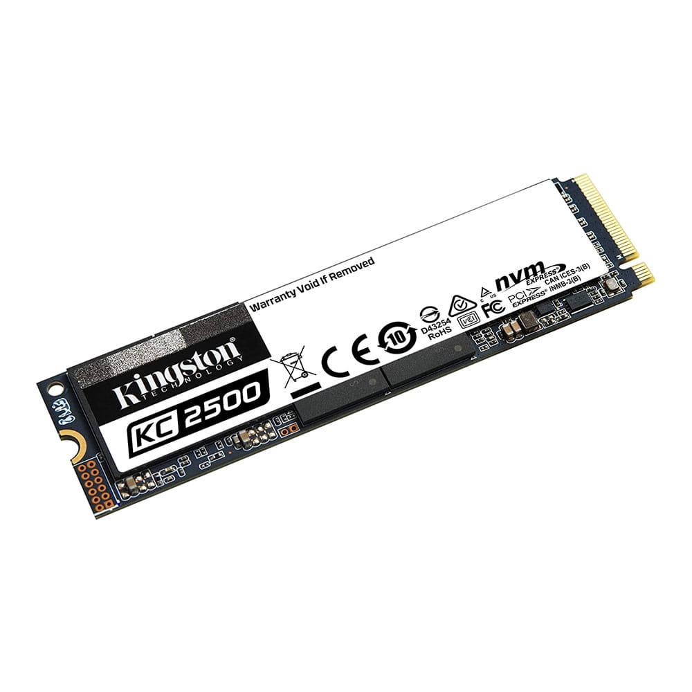 SSD 500Gb Kingston KC2500 NVMe M.2 Type 2280