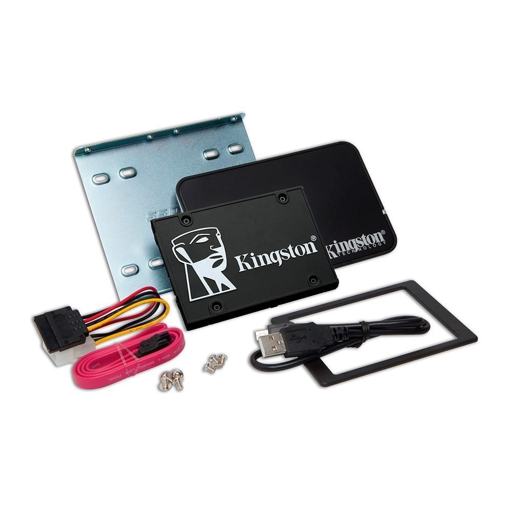 SSD 256Gb Kingston KC600 2.5 SATA3 + Kit Actualización