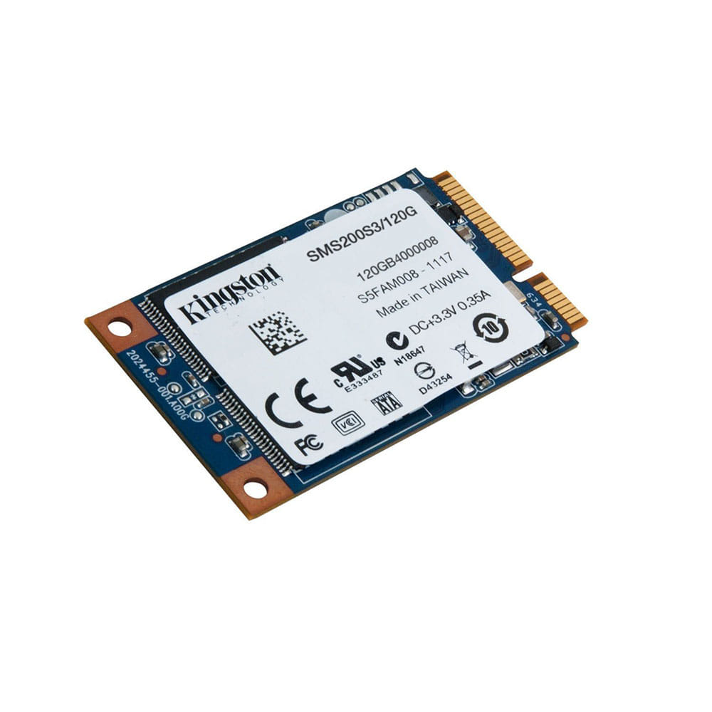 SSD 120Gb Kingston MS200 mSATA