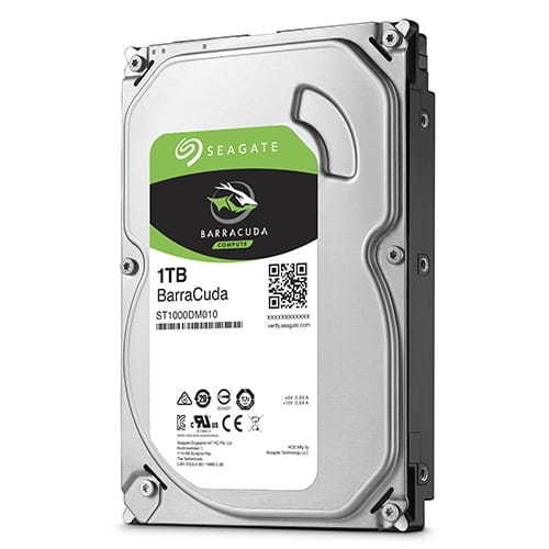 HDD 1Tb Seagate Barracuda 3.5 SATA3 7200rpm