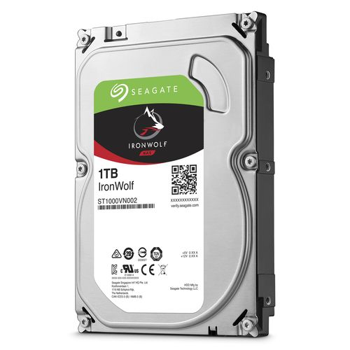 HDD 1Tb Seagate IronWolf 3.5 SATA3 5900rpm