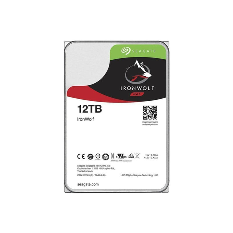 HDD 12Tb Seagate IronWolf 3.5 SATA3 7200rpm