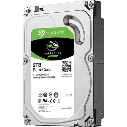HDD 2Tb Seagate Barracuda 3.5 SATA3 7200rpm