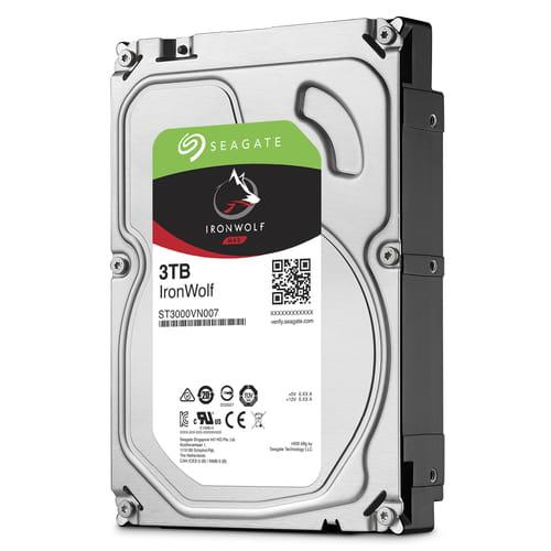 HDD 3Tb Seagate IronWolf 3.5 SATA3 5900rpm