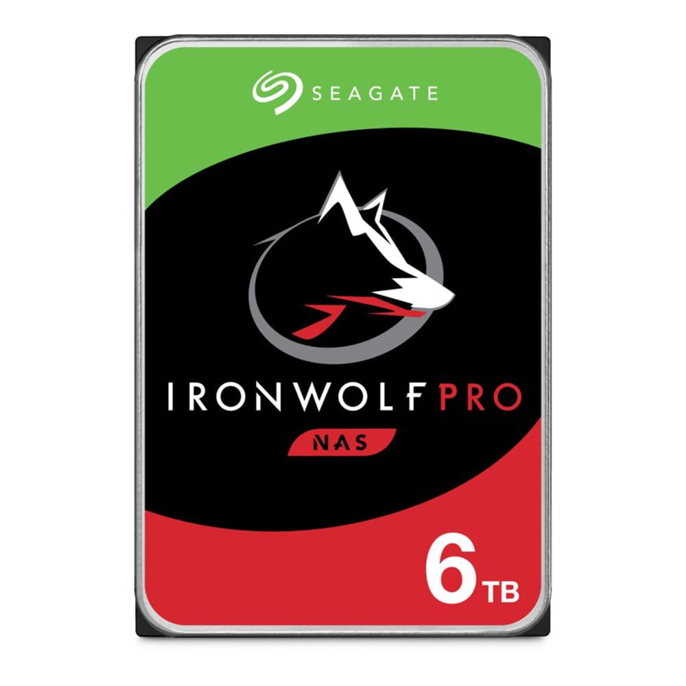 HDD 6Tb Seagate IronWolf Pro 3.5 SATA3 7200rpm
