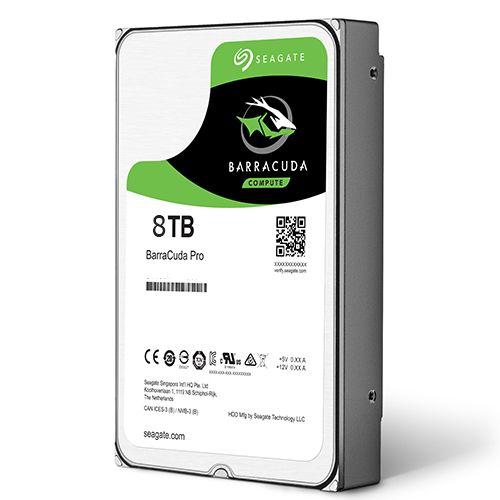 HDD 8Tb Seagate Barracuda Pro 3.5 SATA3 7200rpm