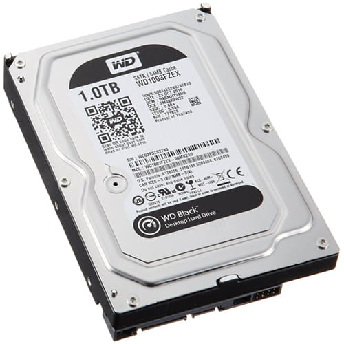 HDD 1Tb Western Digital Black 3.5 SATA3 7200rpm