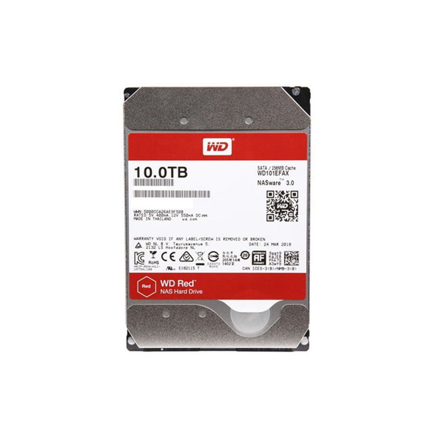 HDD 10Tb Western Digital Red 3.5 SATA3 5400RPM