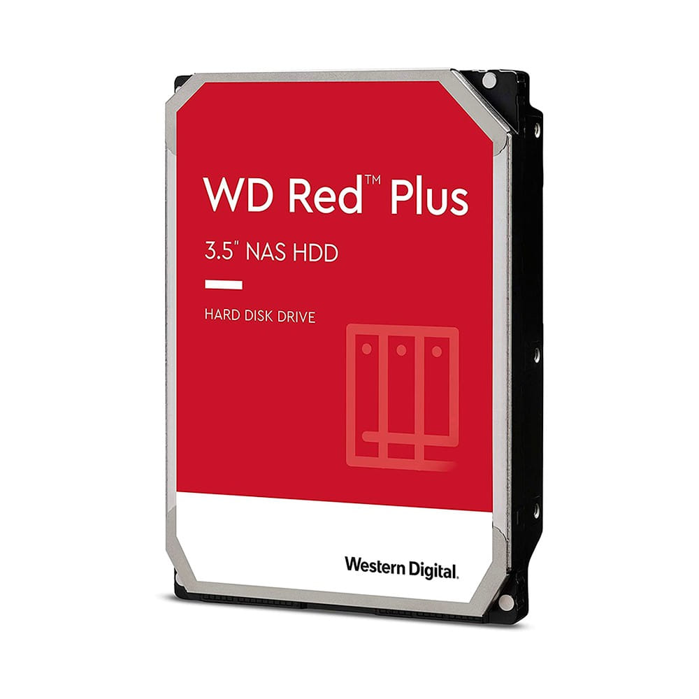 "HDD 10Tb Western Digital Red Plus 3.5"" SATA3 7200rpm"