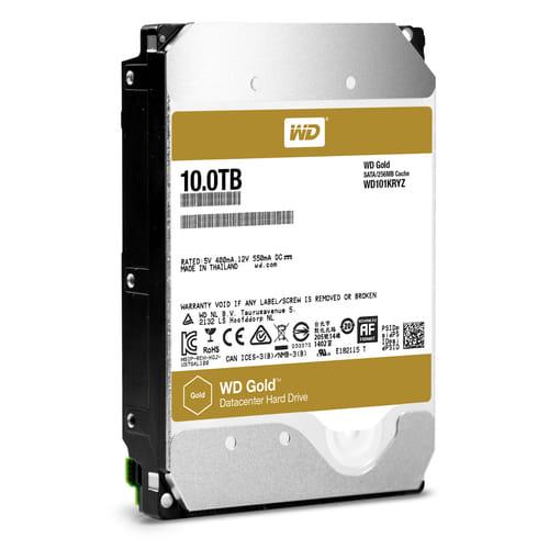 HDD 10Tb Western Digital Gold 3.5 SATA3 7200rpm