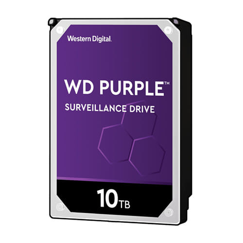 HDD 10Tb Western Digital Purple Surveillance 3.5 SATA3 7200RPM
