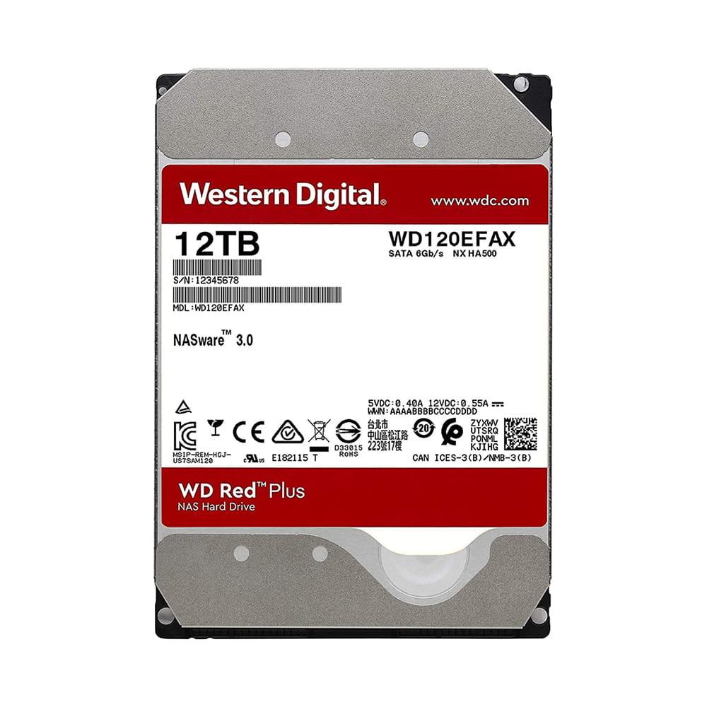 HDD 12Tb Western Digital Red 3.5 SATA3 5400RPM