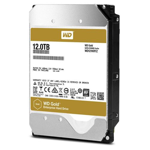 HDD 12Tb Western Digital Gold 3.5 SATA3 7200rpm