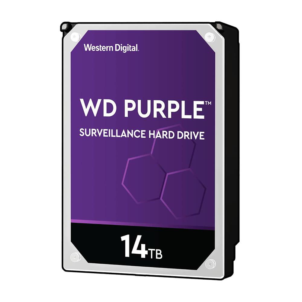 HDD 14Tb Western Digital Purple Surveillance 3.5 SATA3 7200RPM