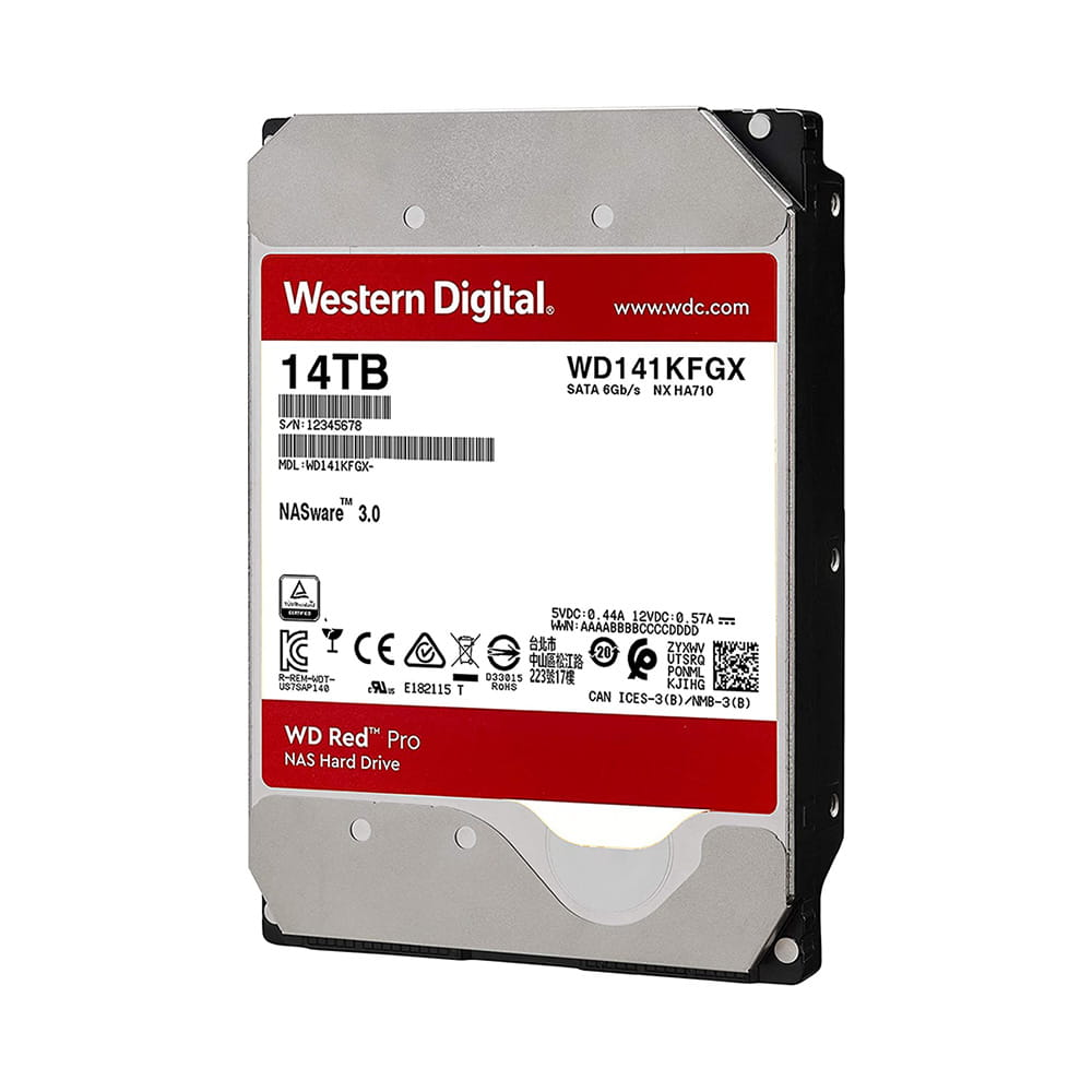 HDD 14Tb Western Digital Red Pro NAS 3.5 SATA3 7200rpm