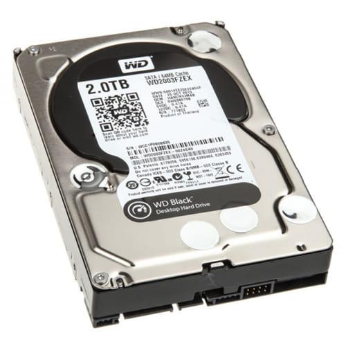 HDD 2Tb Western Digital Black 3.5 SATA3 7200rpm