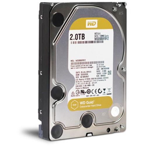 HDD 2Tb Western Digital Gold 3.5 SATA3 7200rpm