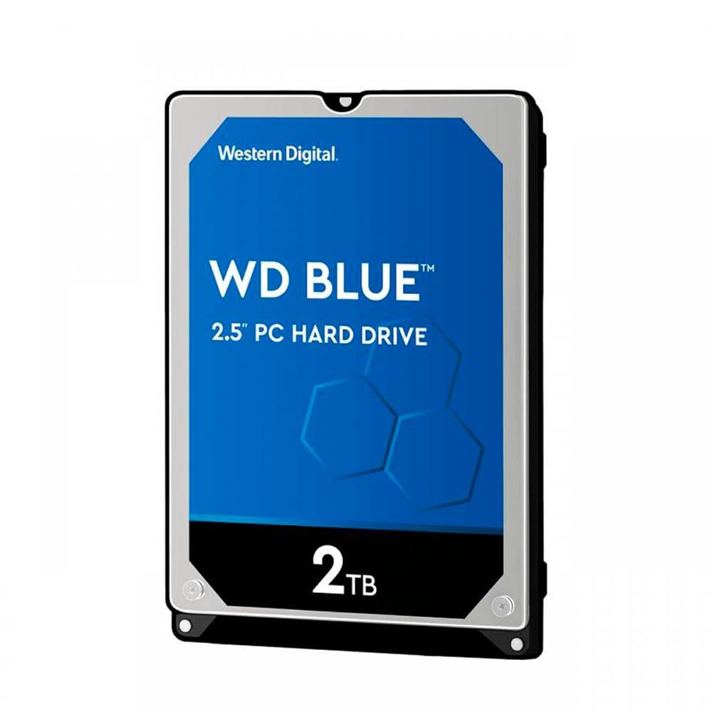 HDD 2Tb Western Digital Blue 2.5 SATA3 5400RPM