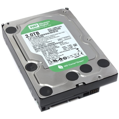 """HDD 3Tb Western Digital Green 3.5"""" SATA3 5900rpm"""