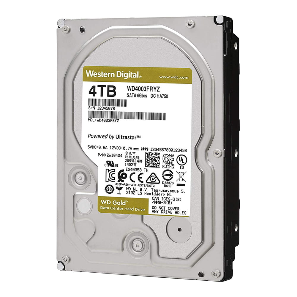 HDD 4Tb Western Digital Gold 3.5 SATA3 7200rpm