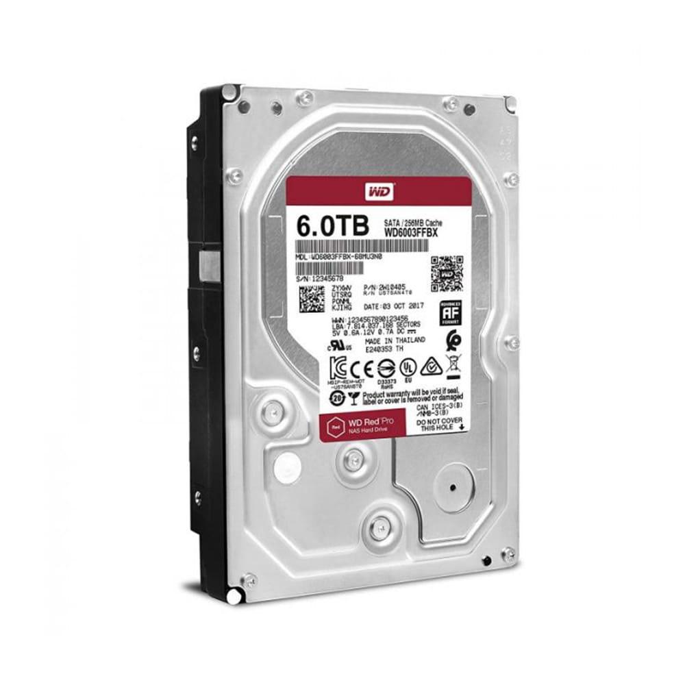 HDD 6Tb Western Digital Red Pro NAS 3.5 SATA3 7200rpm