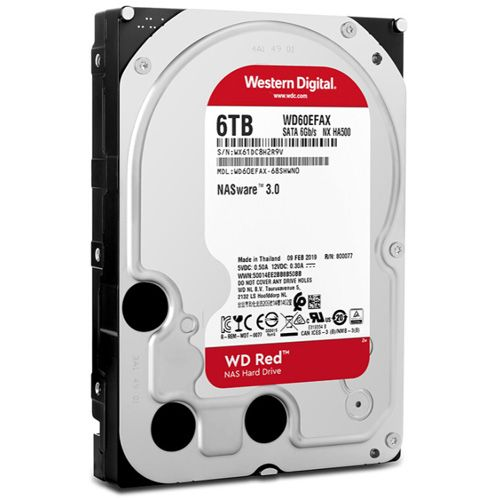 HDD 6Tb Western Digital Red 3.5 SATA3 5400RPM