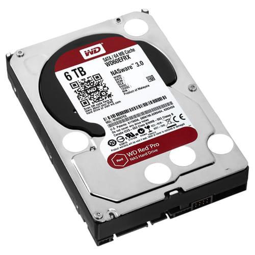 HDD 6Tb Western Digital Red 3.5 SATA3