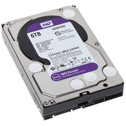 HDD 6Tb Western Digital Purple 3.5 SATA3