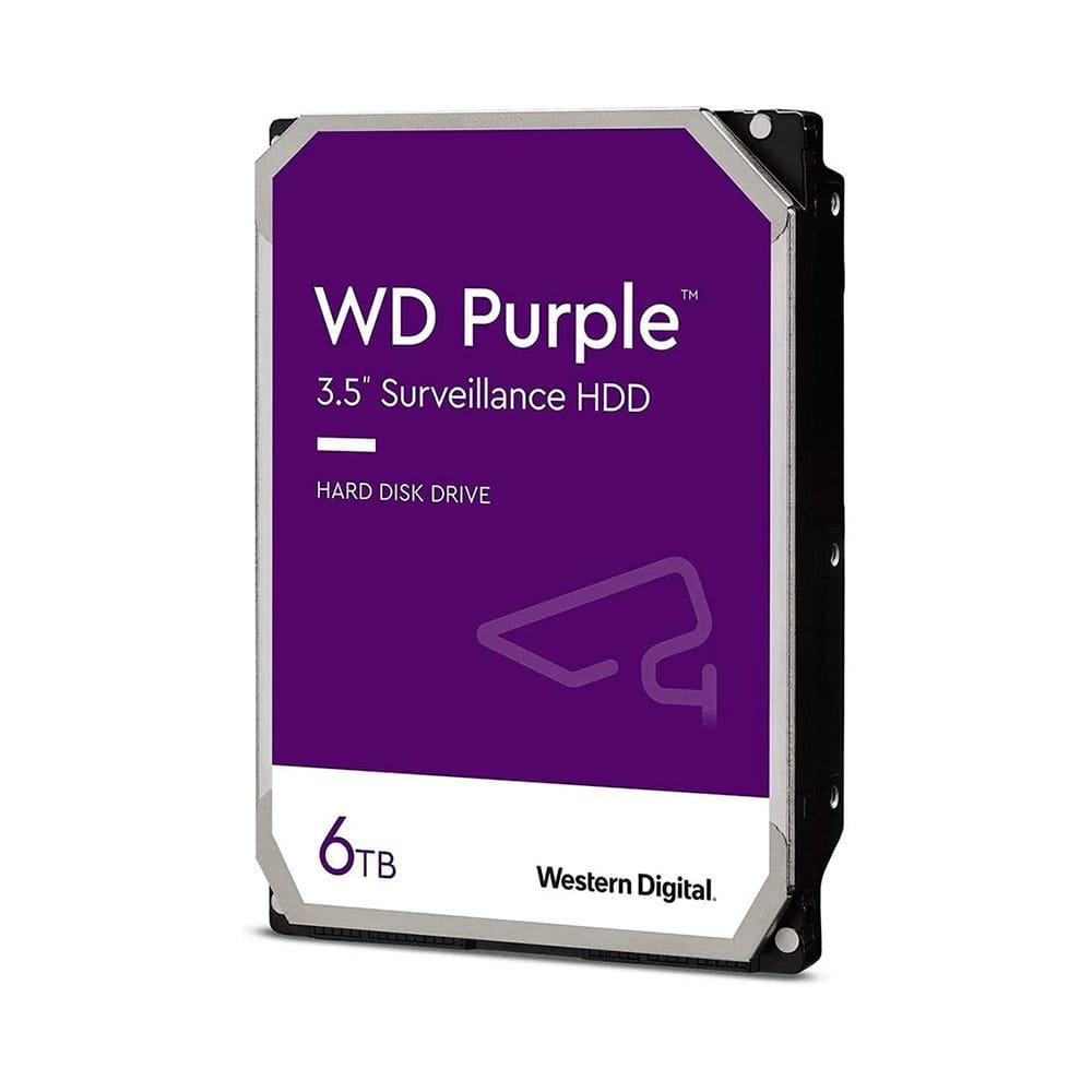 HDD 6Tb Western Digital Purple Surveillance 3.5 SATA3 5640RPM