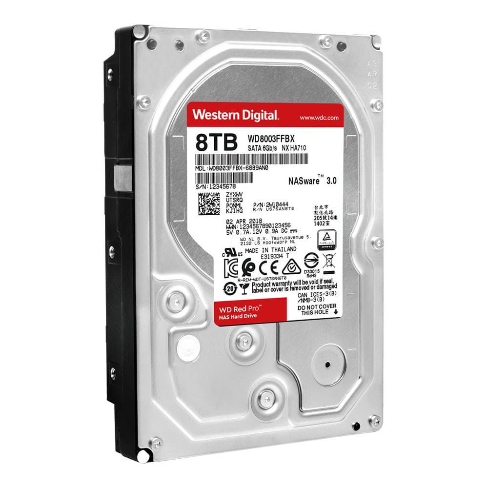 HDD 8Tb Western Digital Red Pro NAS 3.5 SATA3 7200rpm