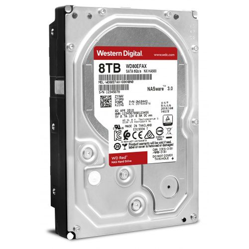 HDD 8Tb Western Digital Red 3.5 SATA3
