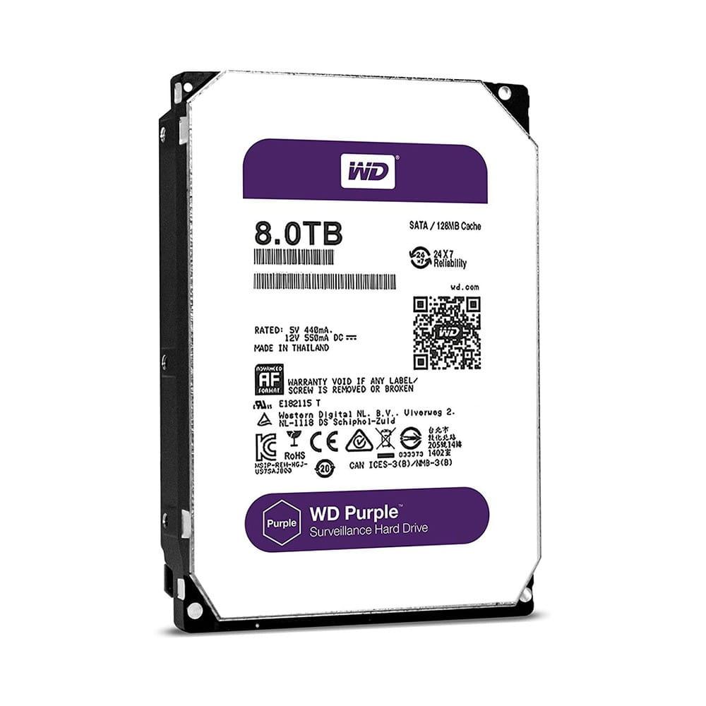 HDD 8Tb Western Digital Purple 3.5 SATA3