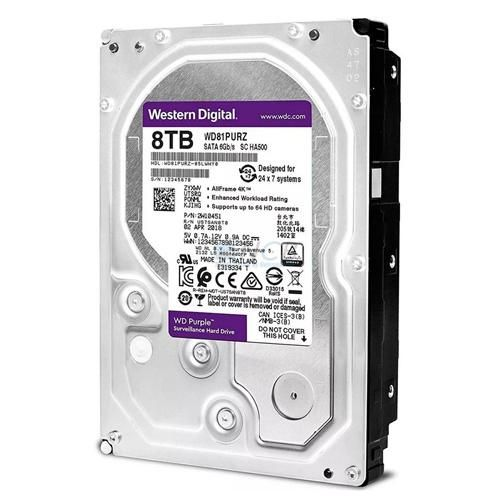 HDD 8Tb Western Digital Purple 3.5 SATA3 5400RPM
