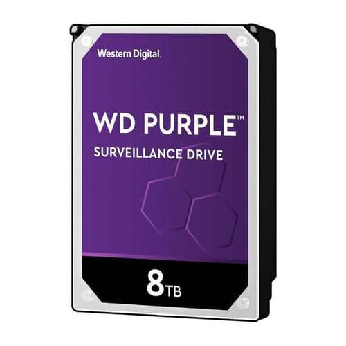 HDD 8Tb Western Digital Purple Surveillance 3.5 SATA3 5640RPM