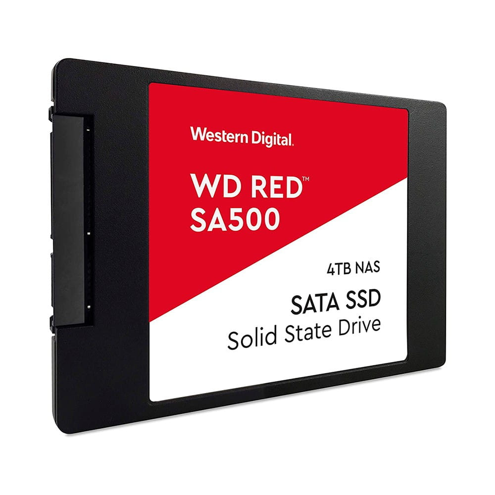 SSD 4Tb Western Digital Red SA500 2.5 SATA3