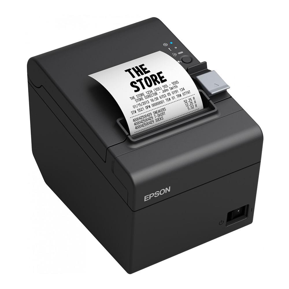 Epson TM-T20III Serial/USB Negra
