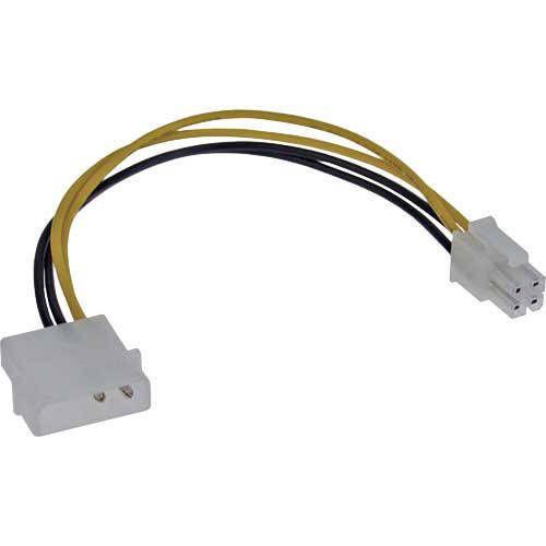 Inline 26632. Cable alimentacion adaptador 4 pin desde Molex 4pin