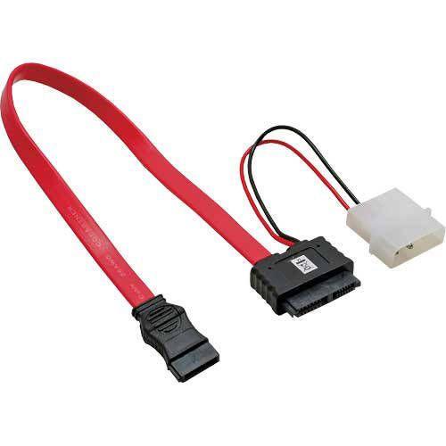 Inline 29675. Adaptador interno. SATA Slim (Power+datos) a Molex 5.25 y SATA estándar