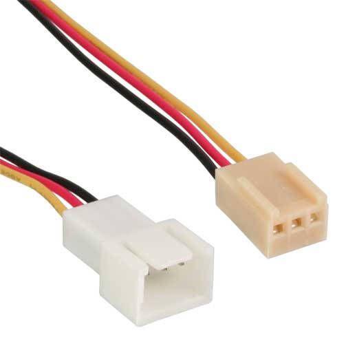 Inline 33328L Cable alargador Molex 3-pin 60cm