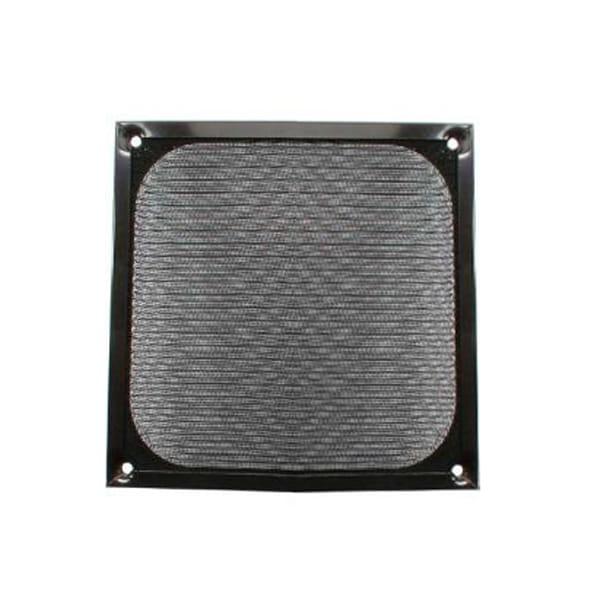 InLine 33378S. Rejilla de aluminio 80x80mm Negra
