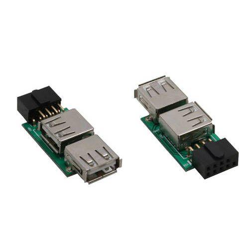 Adaptador interno USB2.0 a 2xUSB 2.0