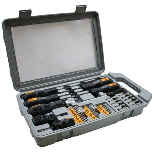 Inline 43077. Kit de destornilladores 45 piezas