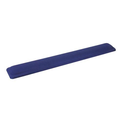 Inline 55454B. Reposamuñecas ergonómico para teclado. Azul. 464x60x23mm.