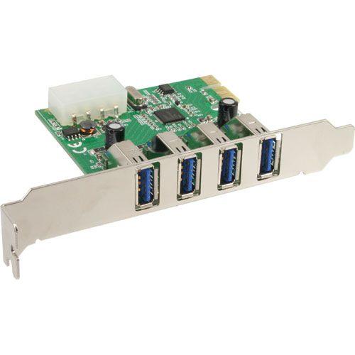 Inline 76661I. Tarjeta PCIeX1 4xUSB3.0