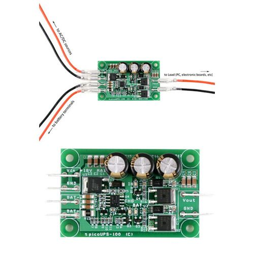 SAI PicoUPS-100 12V DC