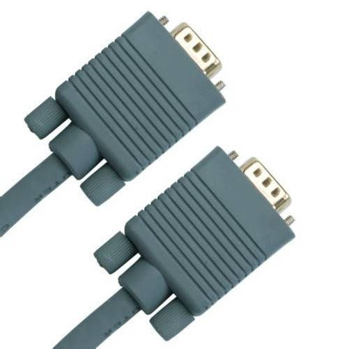 cable VGA HD15P-HD15P 2m. Gris